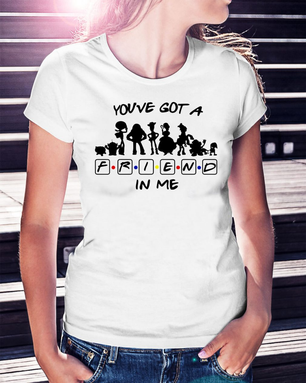 Toy story and friends you've got a friend in me shirt