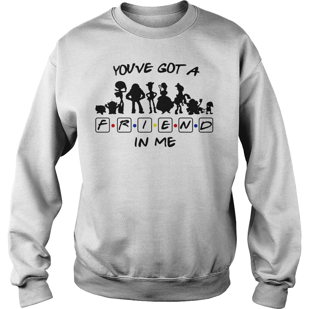 Toy story and friends you've got a friend in me Sweater