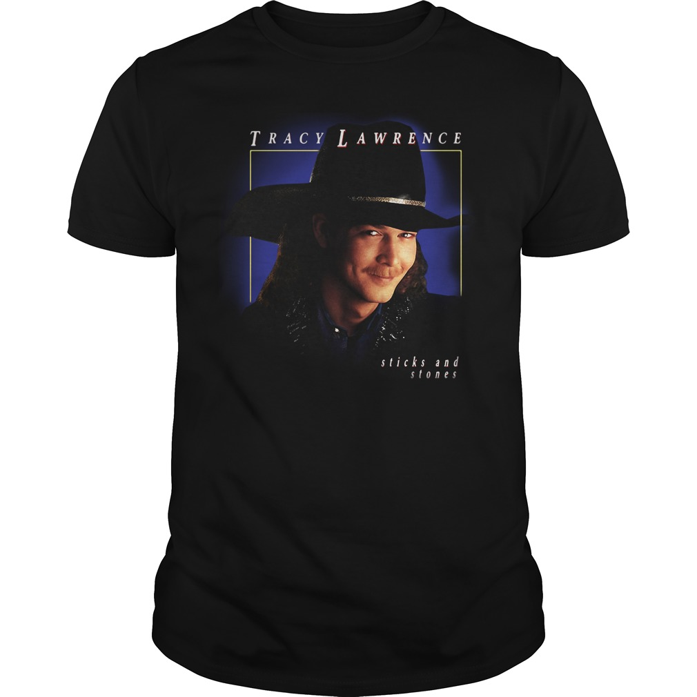Tracy Lawrence sticks and stones Guys Shirt