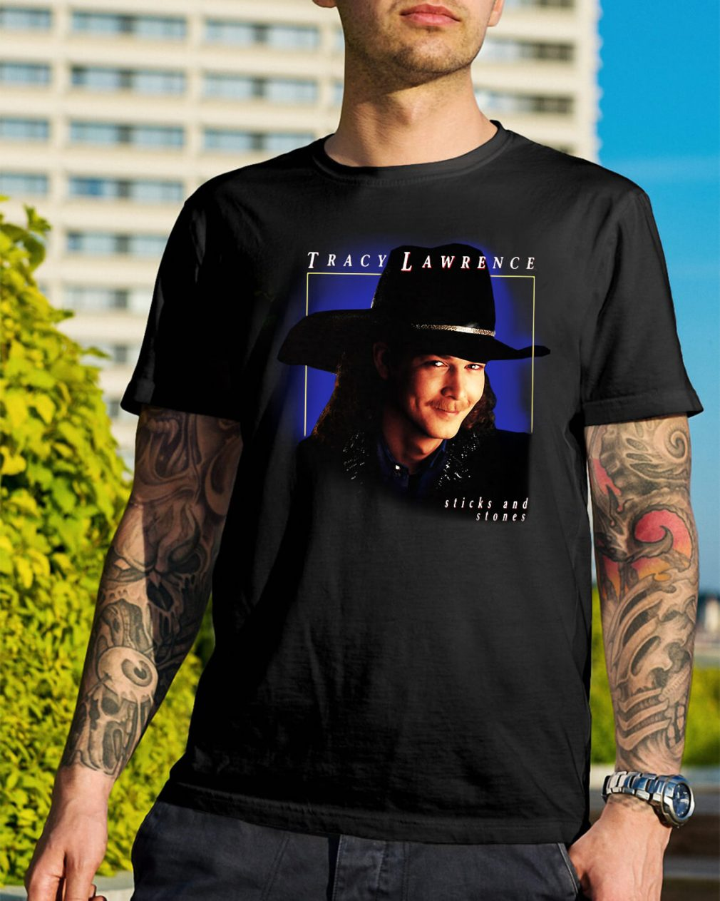 Tracy Lawrence sticks and stones shirt