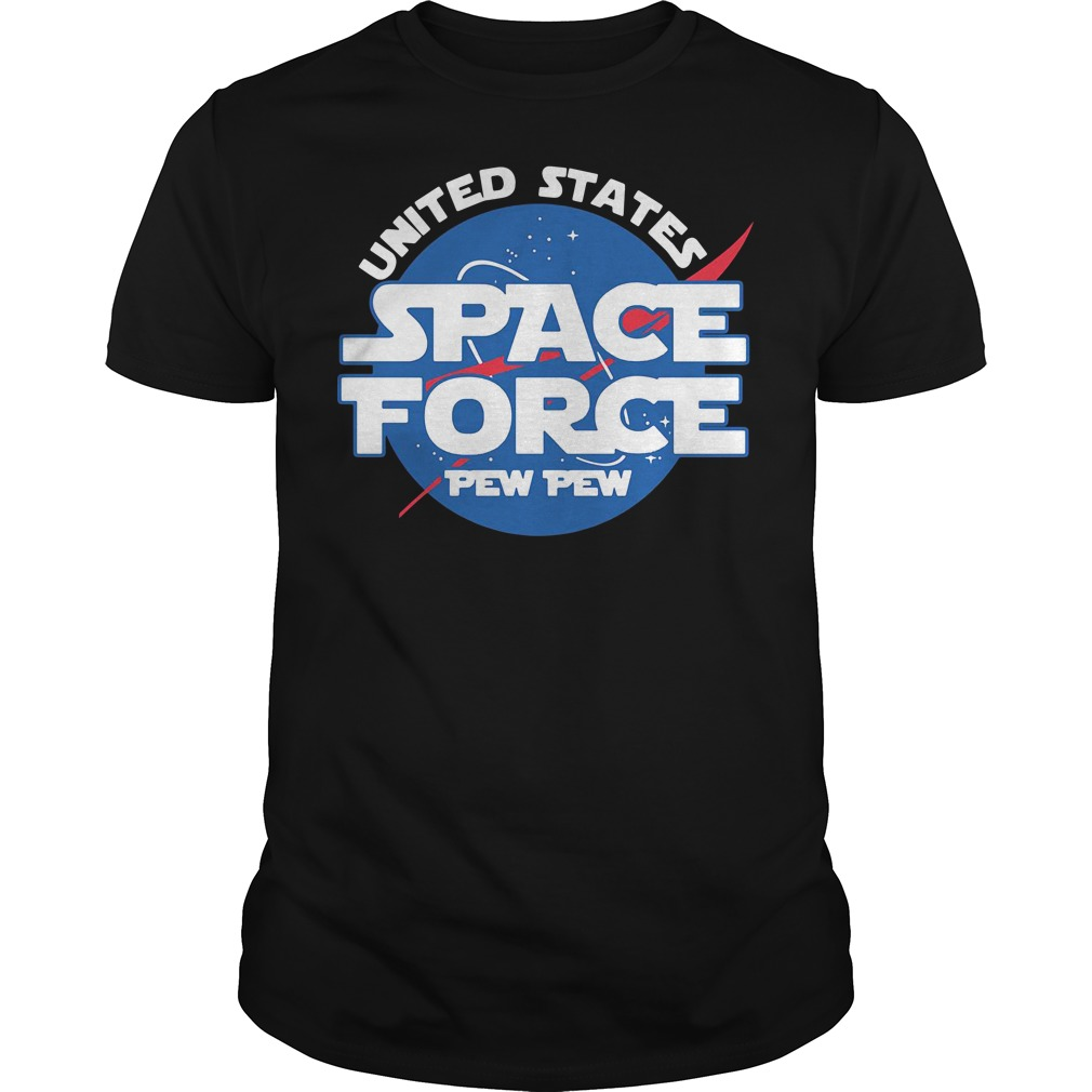 United states space force pewpew Guys Shirt