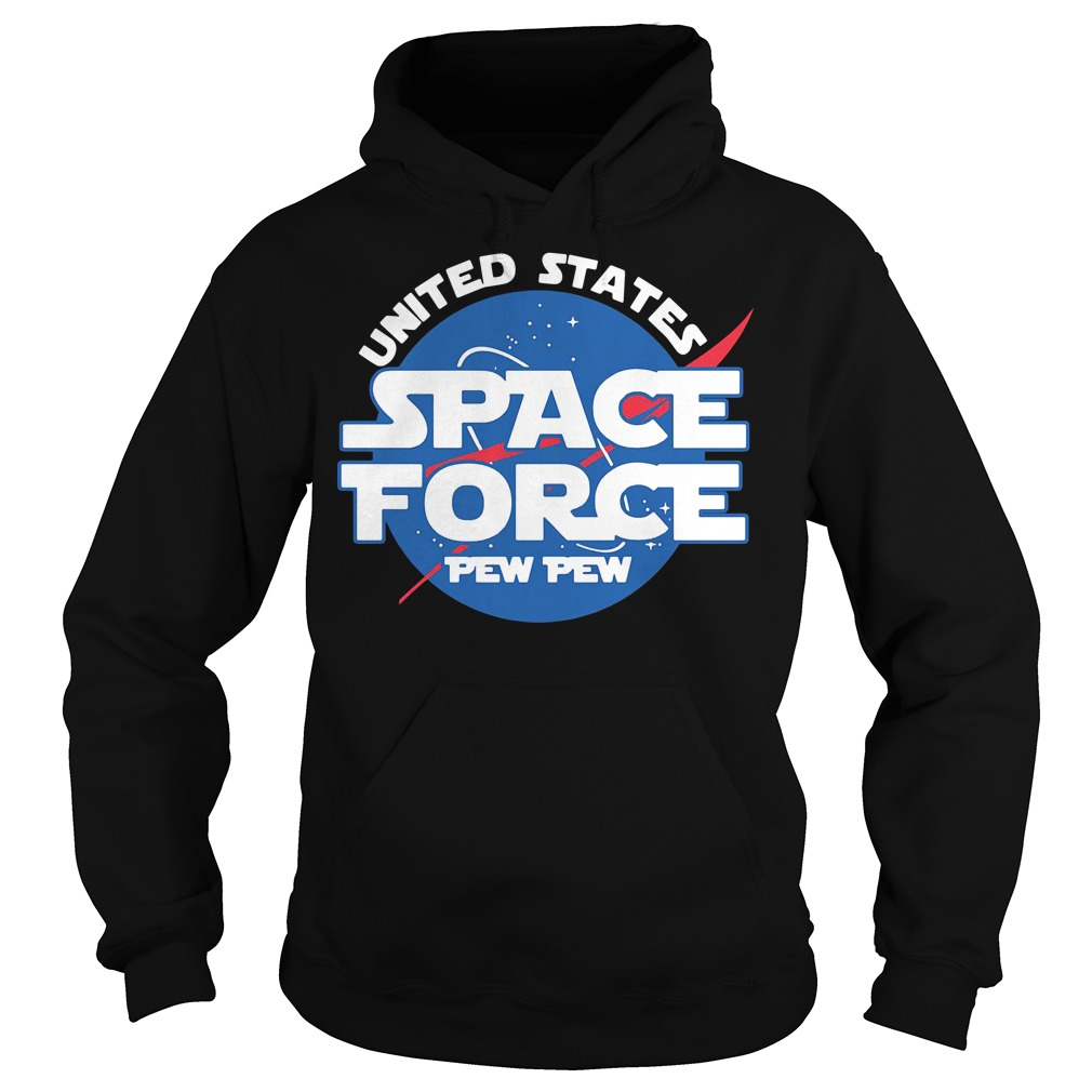 United states space force pewpew Hoodie