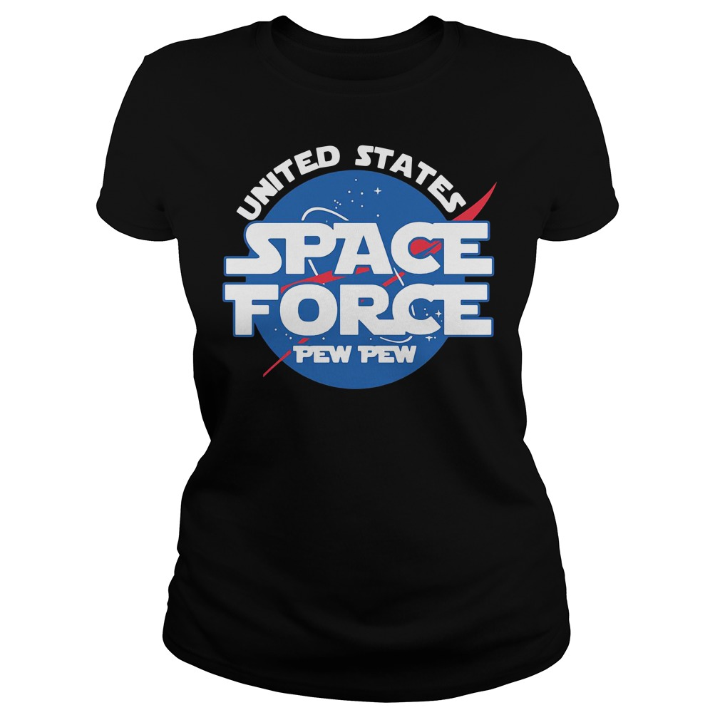 United states space force pewpew Ladies Tee