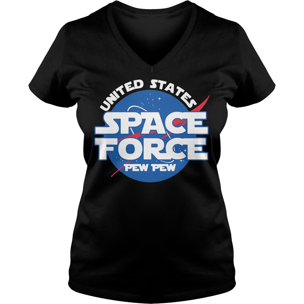 United states space force pewpew V-neck T-shirt