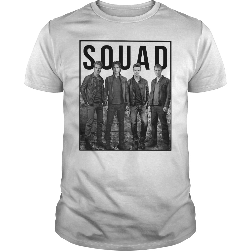 The Vampire Diaries Suicide Squad Guys Shirt