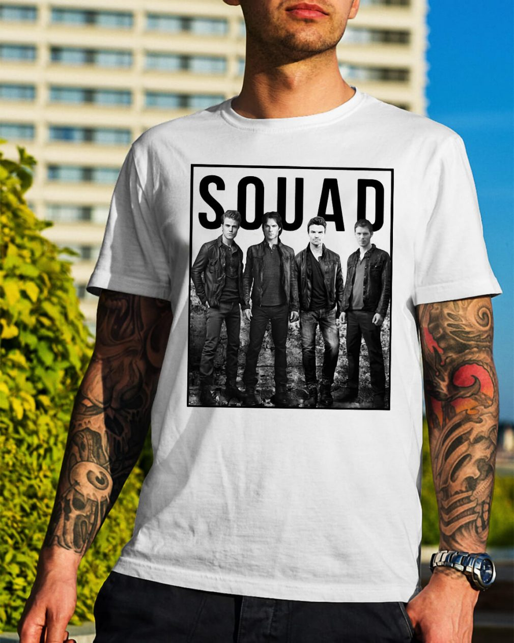 The Vampire Diaries Suicide Squad shirt