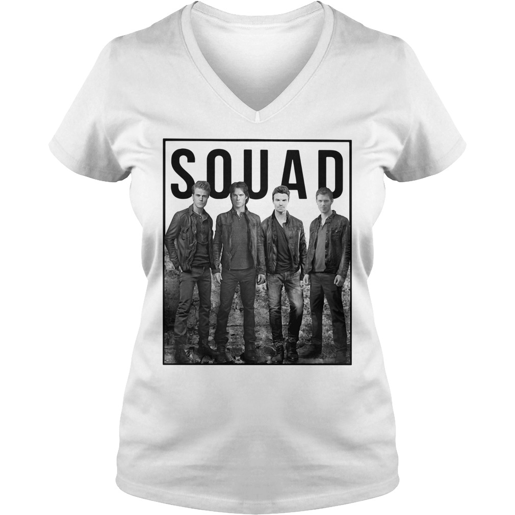The Vampire Diaries Suicide Squad V-neck T-shirt