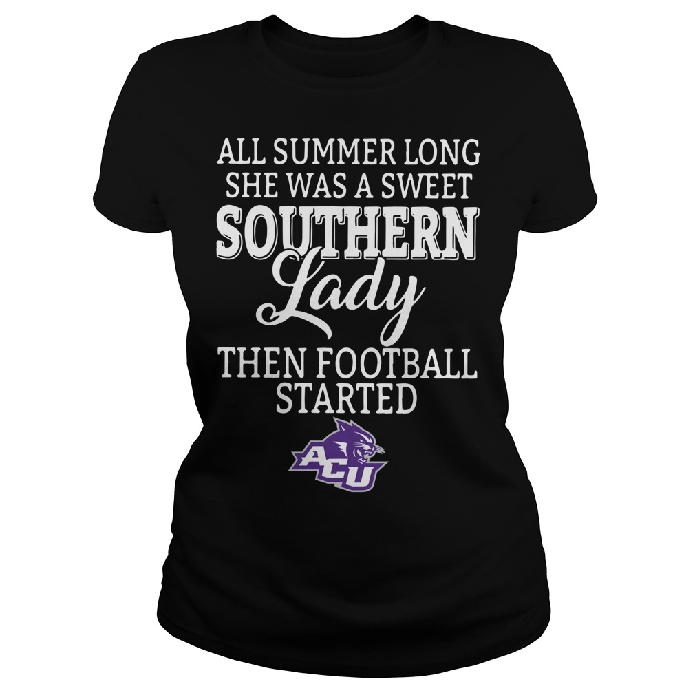 Abilene Christian Wildcats all summer long she was a sweet Ladies Tee