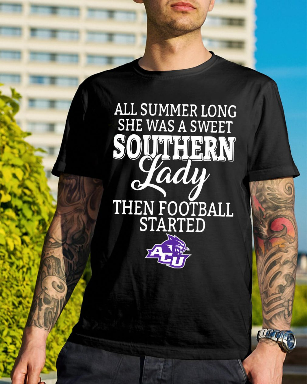 Abilene Christian Wildcats all summer long she was a sweet shirt