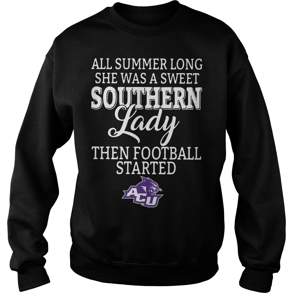 Abilene Christian Wildcats all summer long she was a sweet Sweater