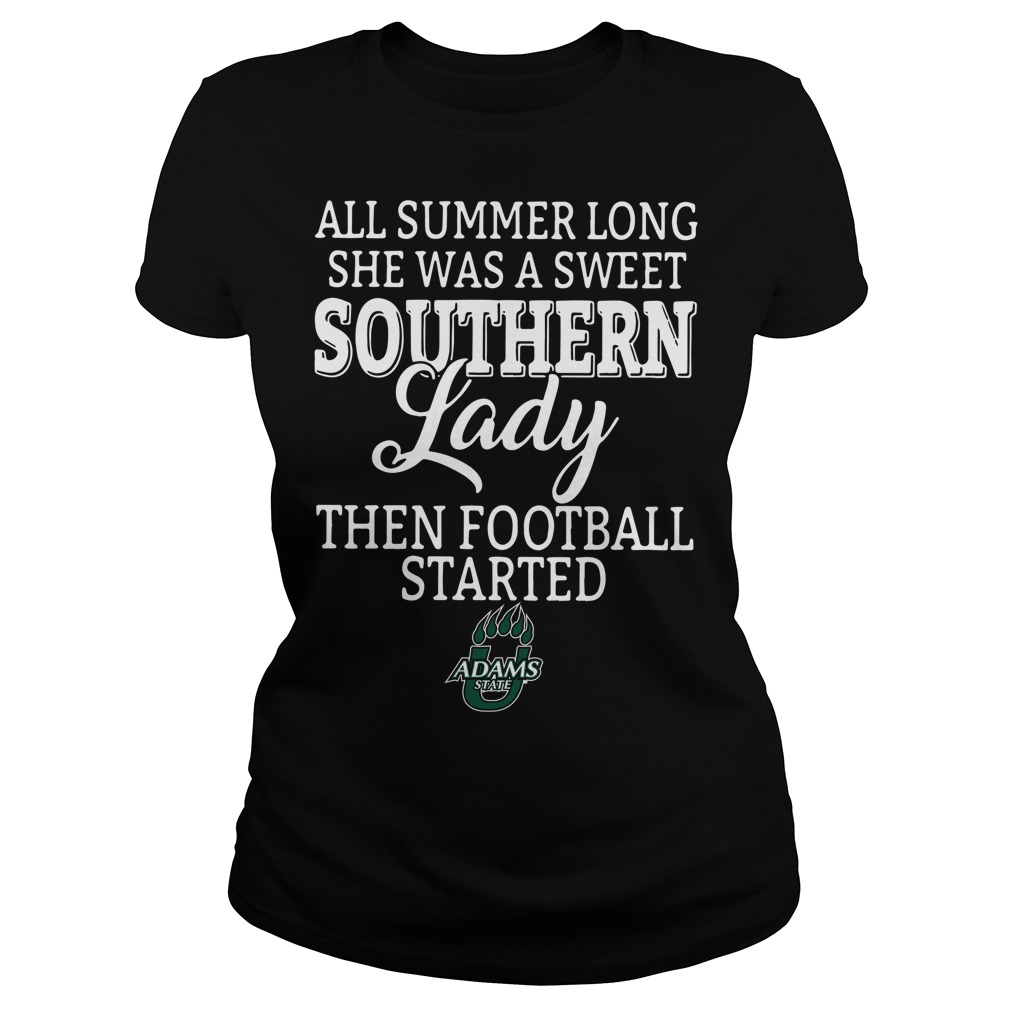 Adams State Grizzlies all summer long she was a sweet Ladies Tee