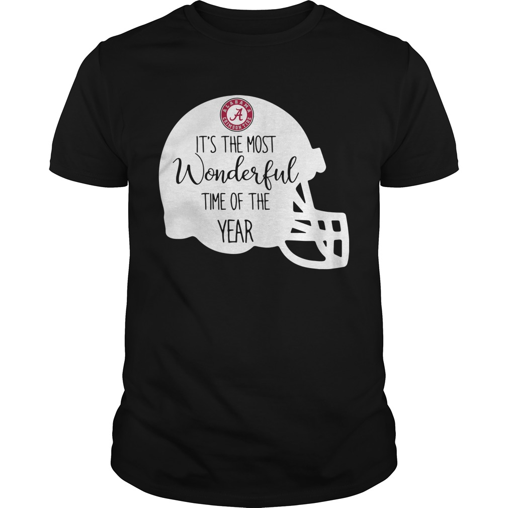 Alabama Crimson Tide it's the most wonderful time of the year Guys Shirt