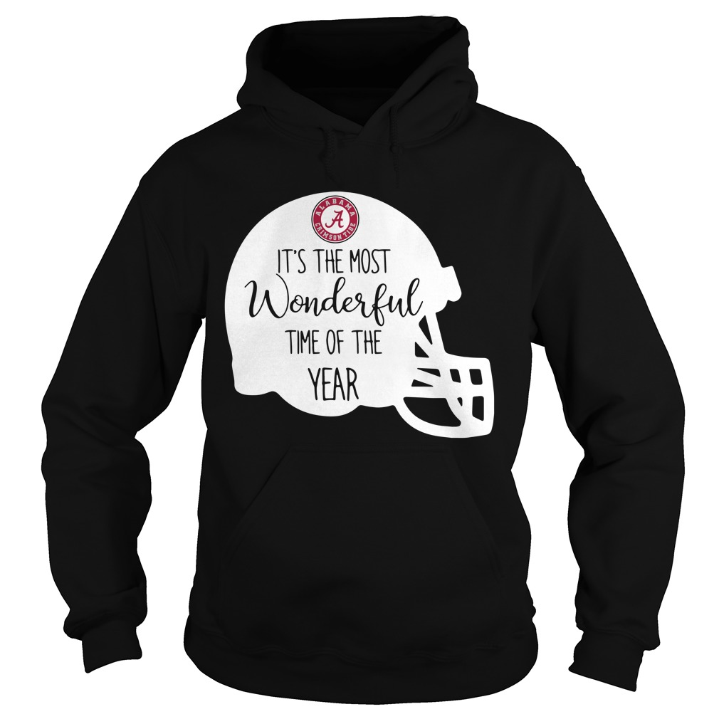 Alabama Crimson Tide it's the most wonderful time of the year Hoodie
