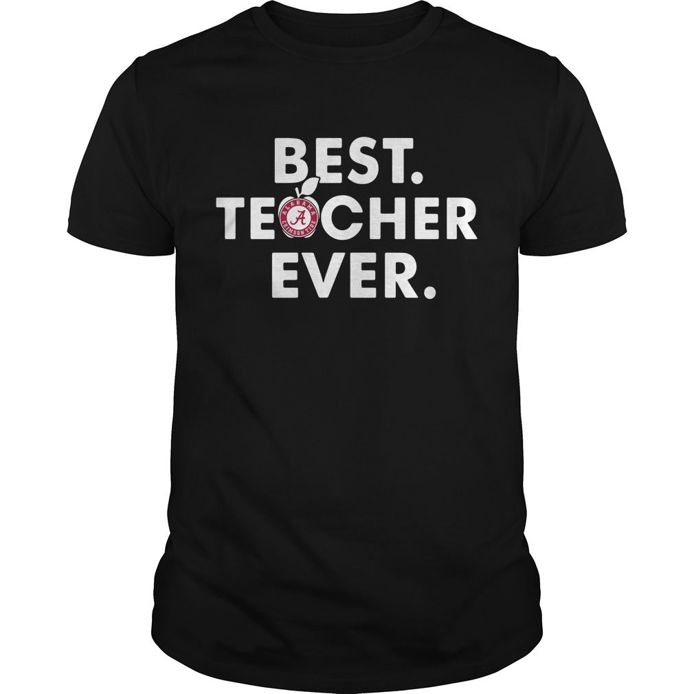 Alabama Crimson best teacher ever Guys Shirt
