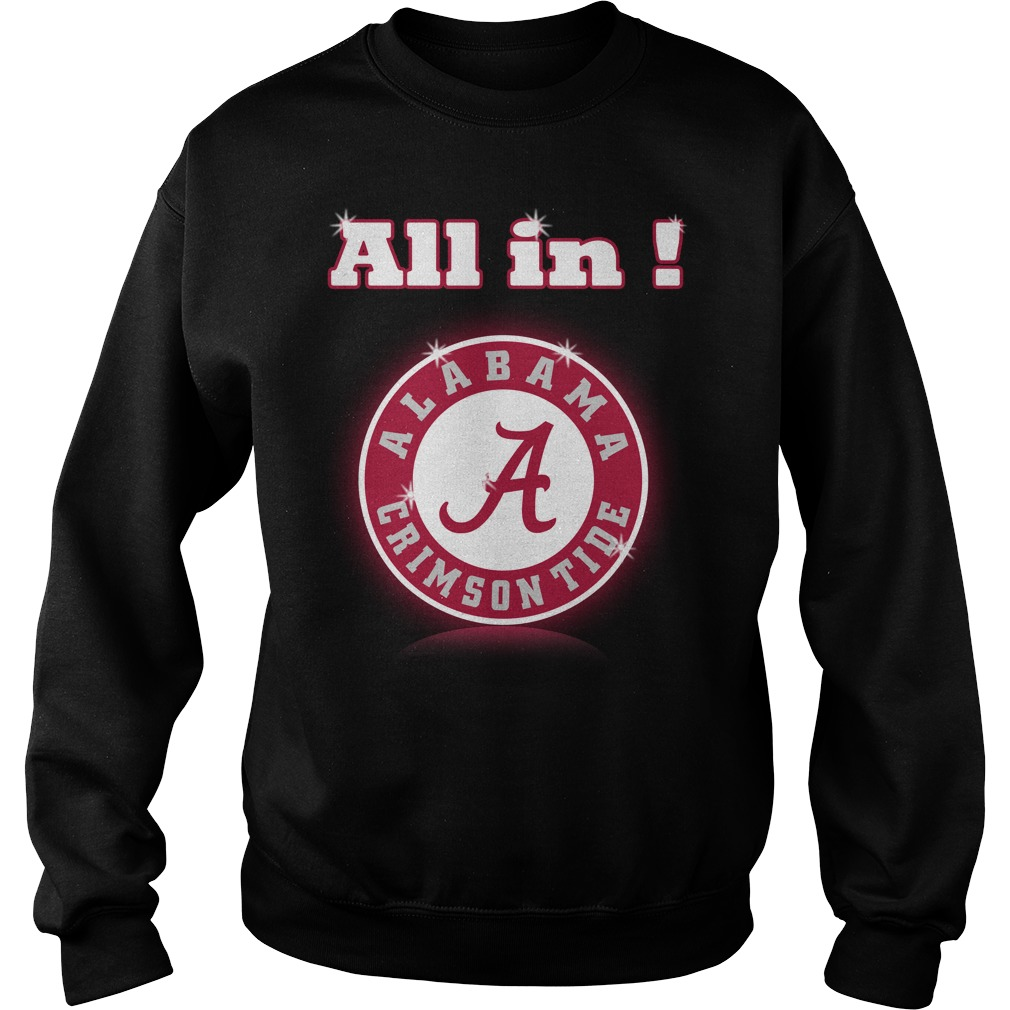 All in Alabama Crimson Tide Sweater