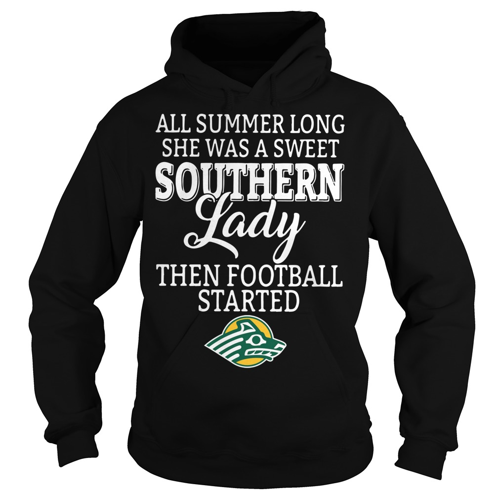 Alaska Anchorage Seawolves all summer long she was a sweet Hoodie