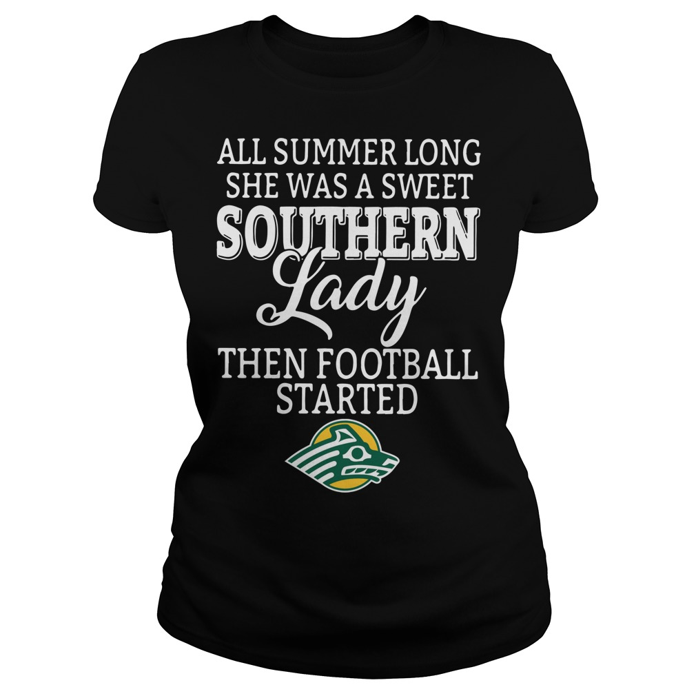 Alaska Anchorage Seawolves all summer long she was a sweet Ladies Tee