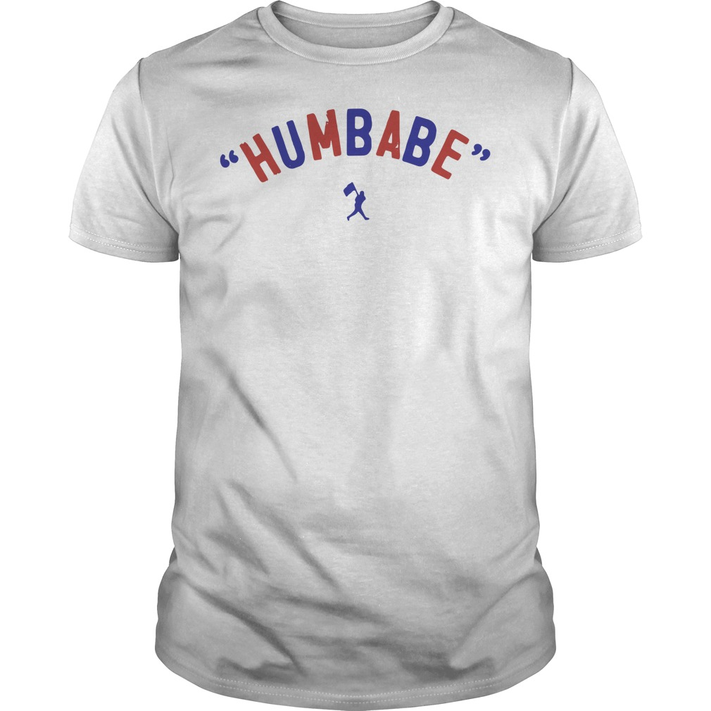 Baseball humbabe Guys Shirt