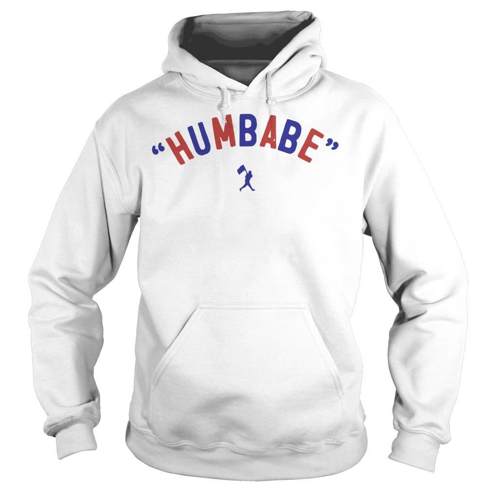 Baseball humbabe Hoodie