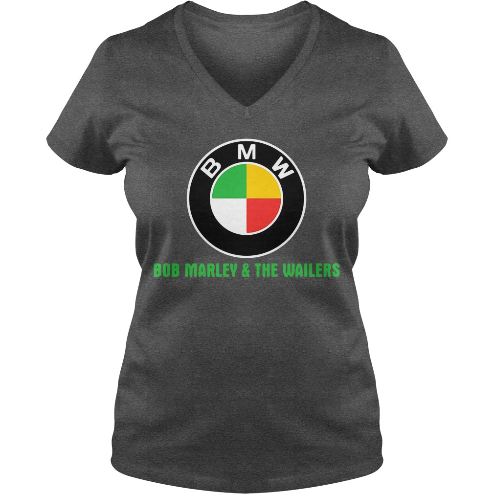 BMW Bob Marley and the wailers V-neck T-shirt