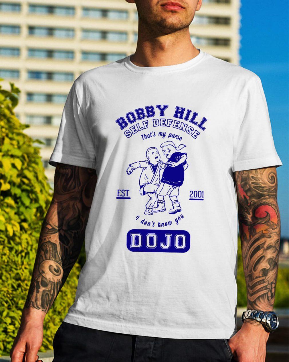 Bobby hill self defense Dojo shirt
