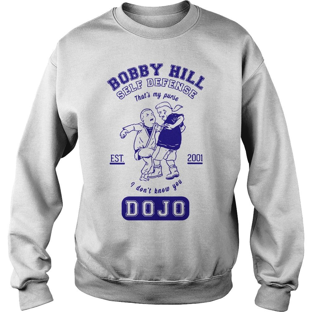Bobby hill self defense Dojo Sweater