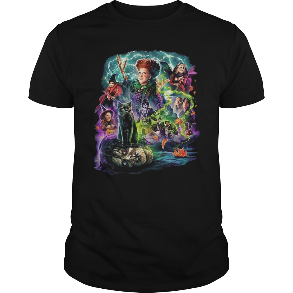 Cavity colors Hocus Pocus Guys Shirt
