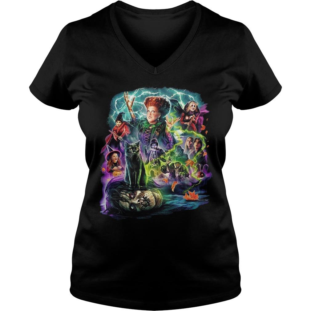 Cavity colors Hocus Pocus V-neck T-shirt
