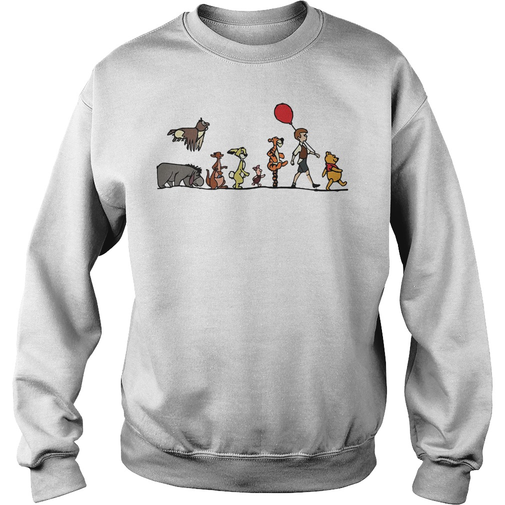 Disney Winnie the Pooh hundred acre wood Sweater