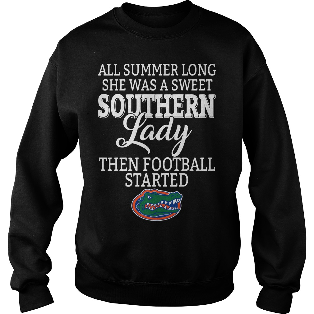 Florida Gators all summer long she was a sweet Southern lady Sweater