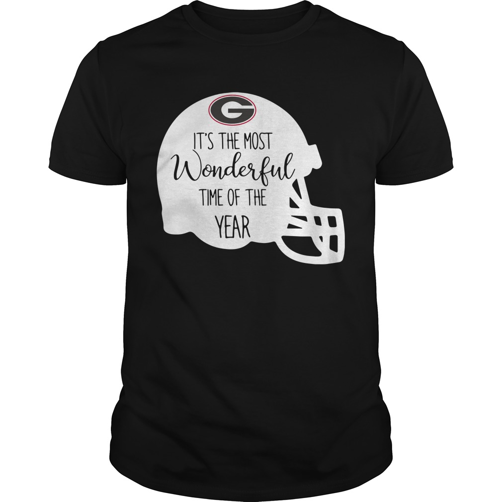 Georgia Bulldogs it's the most wonderful time of the year Guys Shirt
