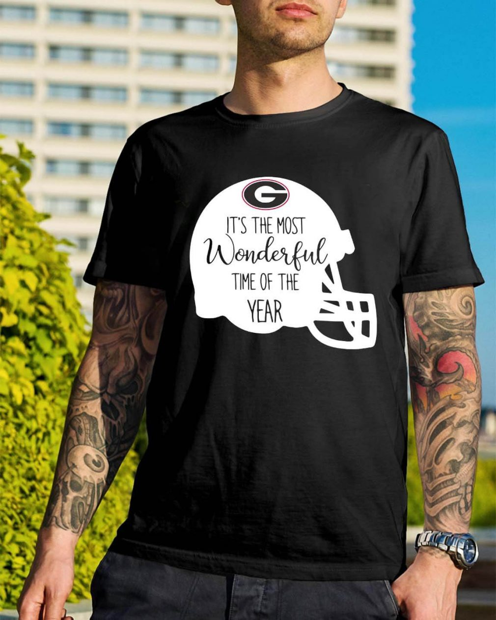 Georgia Bulldogs it's the most wonderful time of the year shirt
