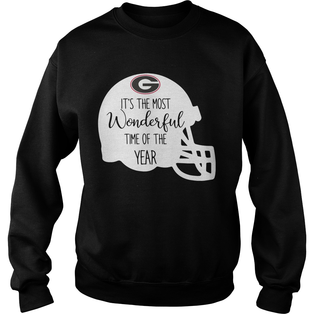 Georgia Bulldogs it's the most wonderful time of the year Sweater