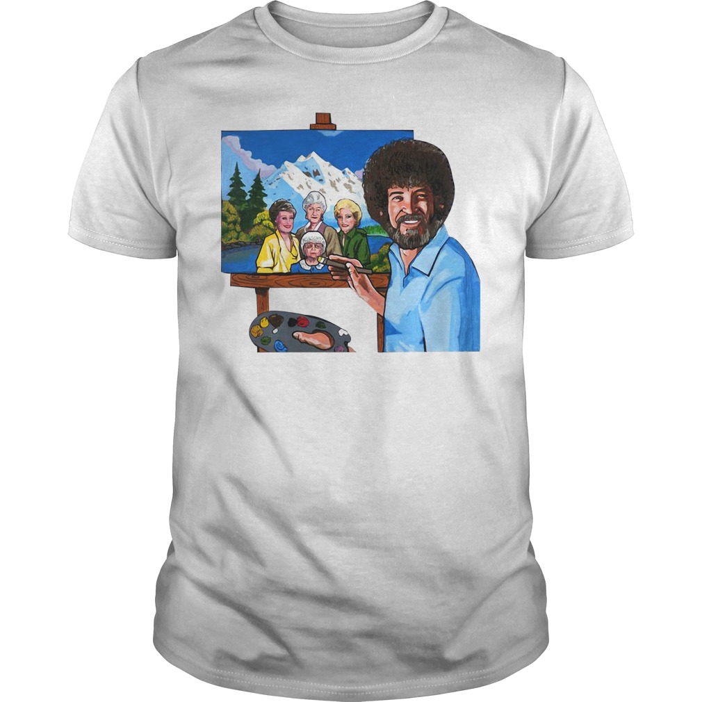 The golden girl by bob ross Guys Shirt