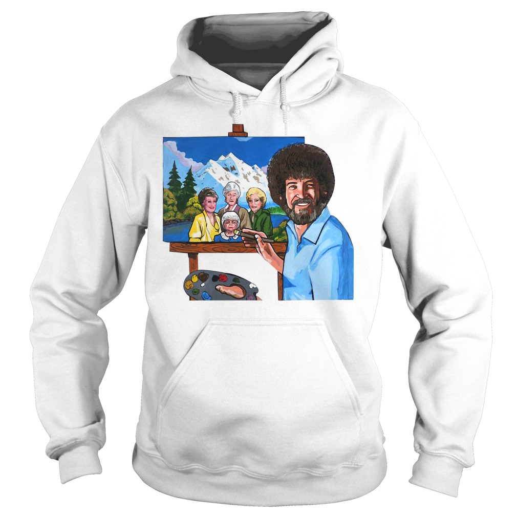 The golden girl by bob ross Hoodie