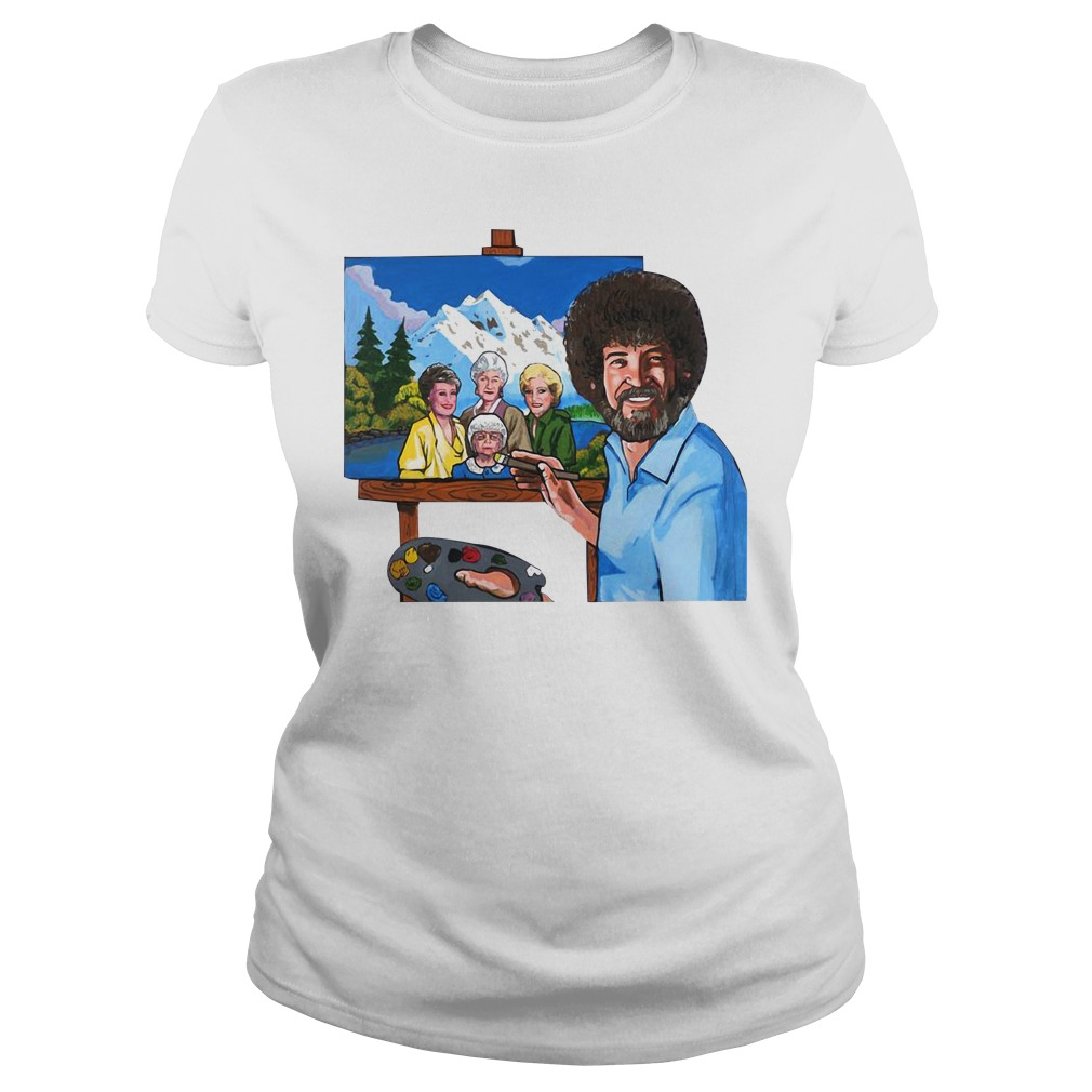 The golden girl by bob ross Ladies Tee