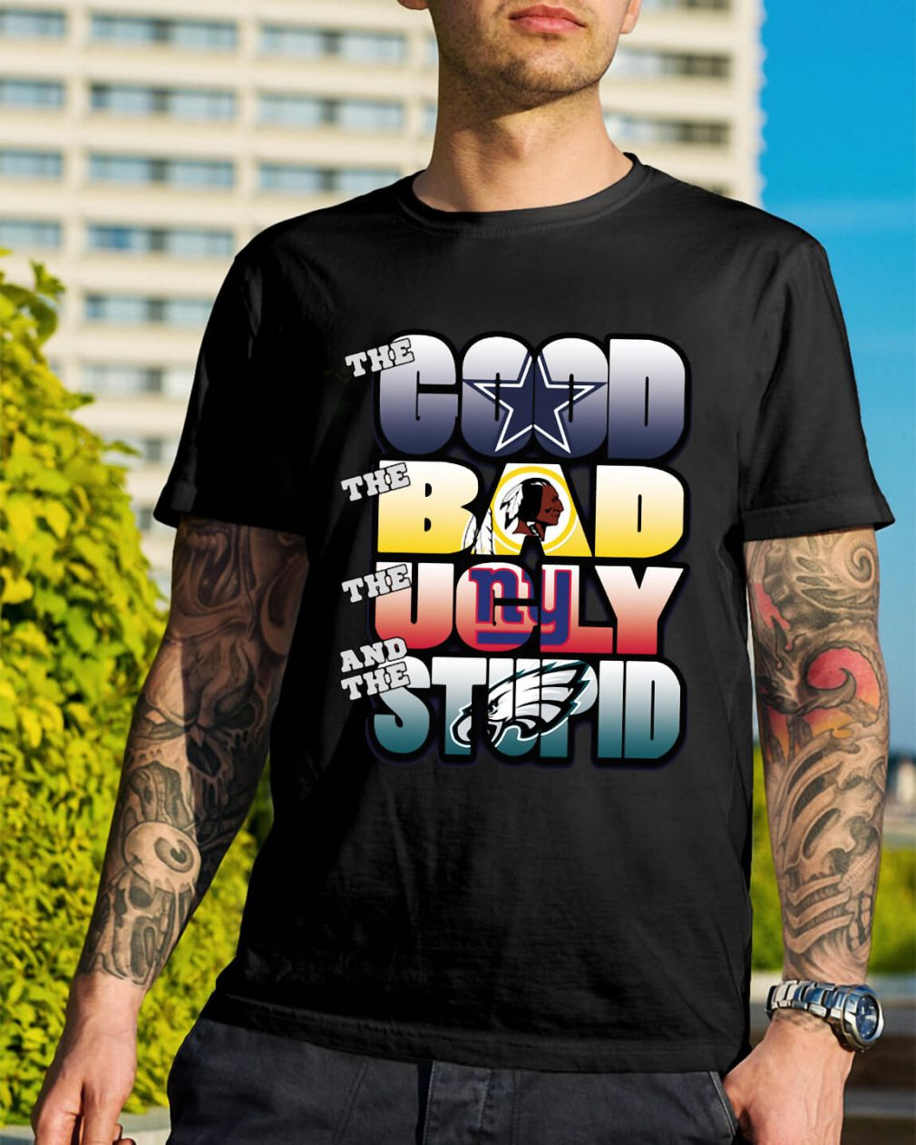 The good bad ugly and stupid NFL Dallas Cowboys shirt