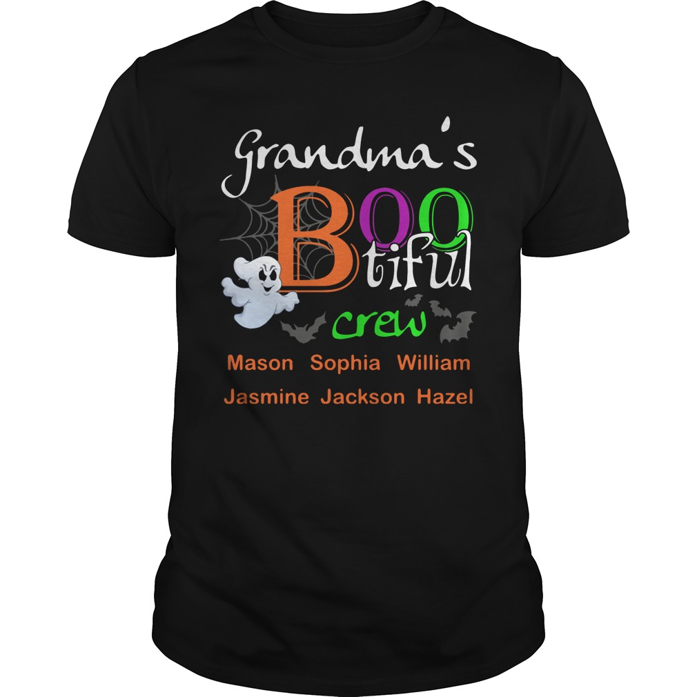 Grandma's bootiful crew Guys Shirt