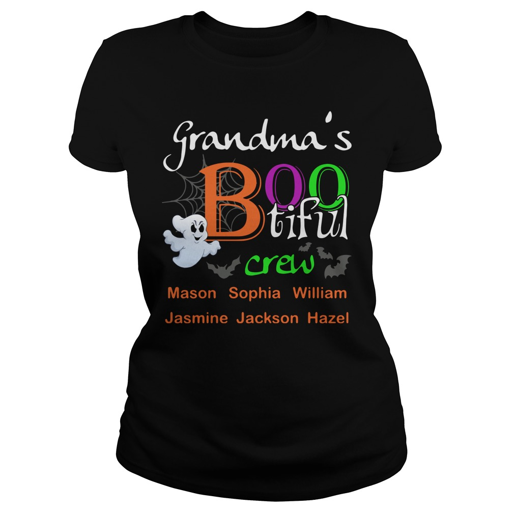 Grandma's bootiful crew Ladies Tee