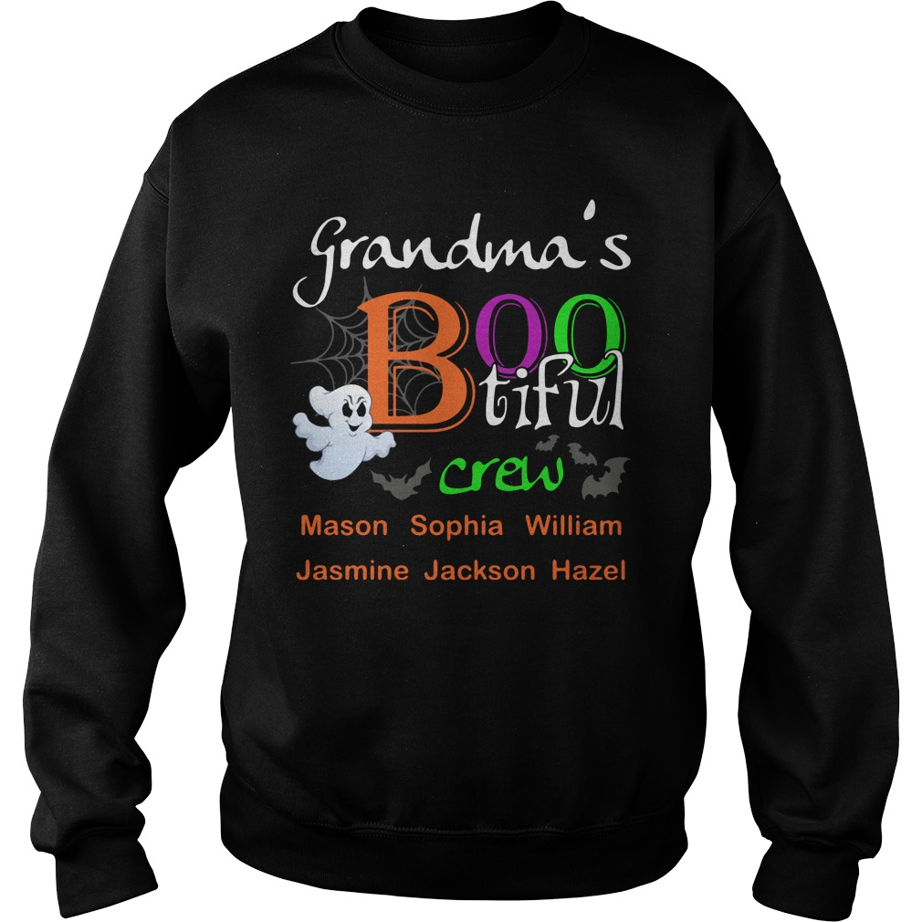 Grandma's bootiful crew Sweater