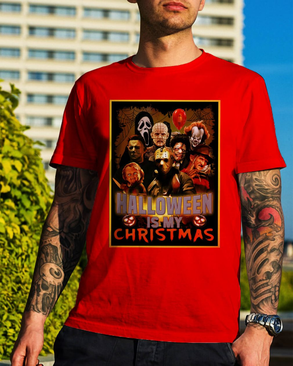 Halloween is my Christmas Honor character shirt