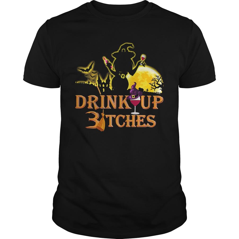 Halloween drink up Bitches Guys Shirt