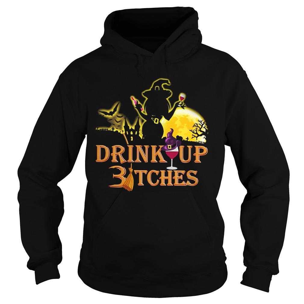 Halloween drink up Bitches Hoodie