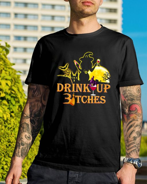 Halloween drink up Bitches shirt