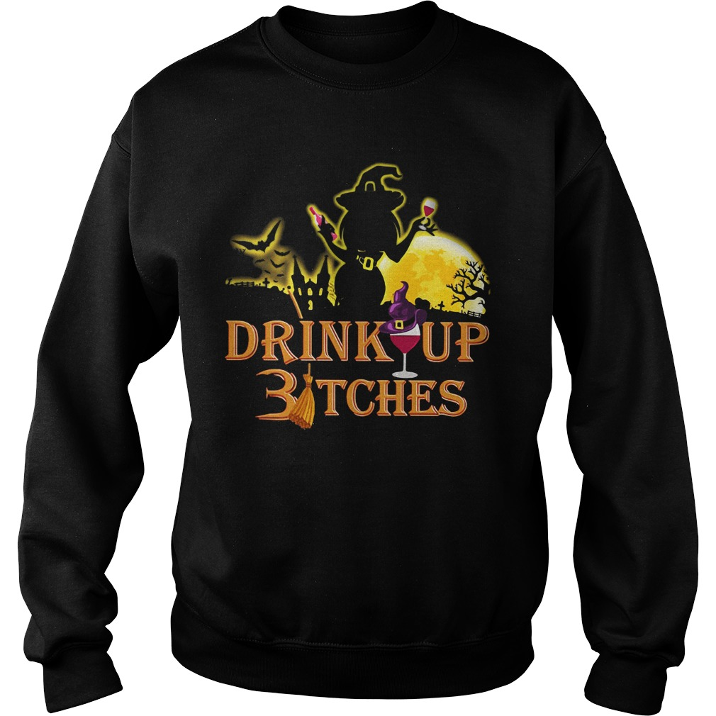 Halloween drink up Bitches Sweater