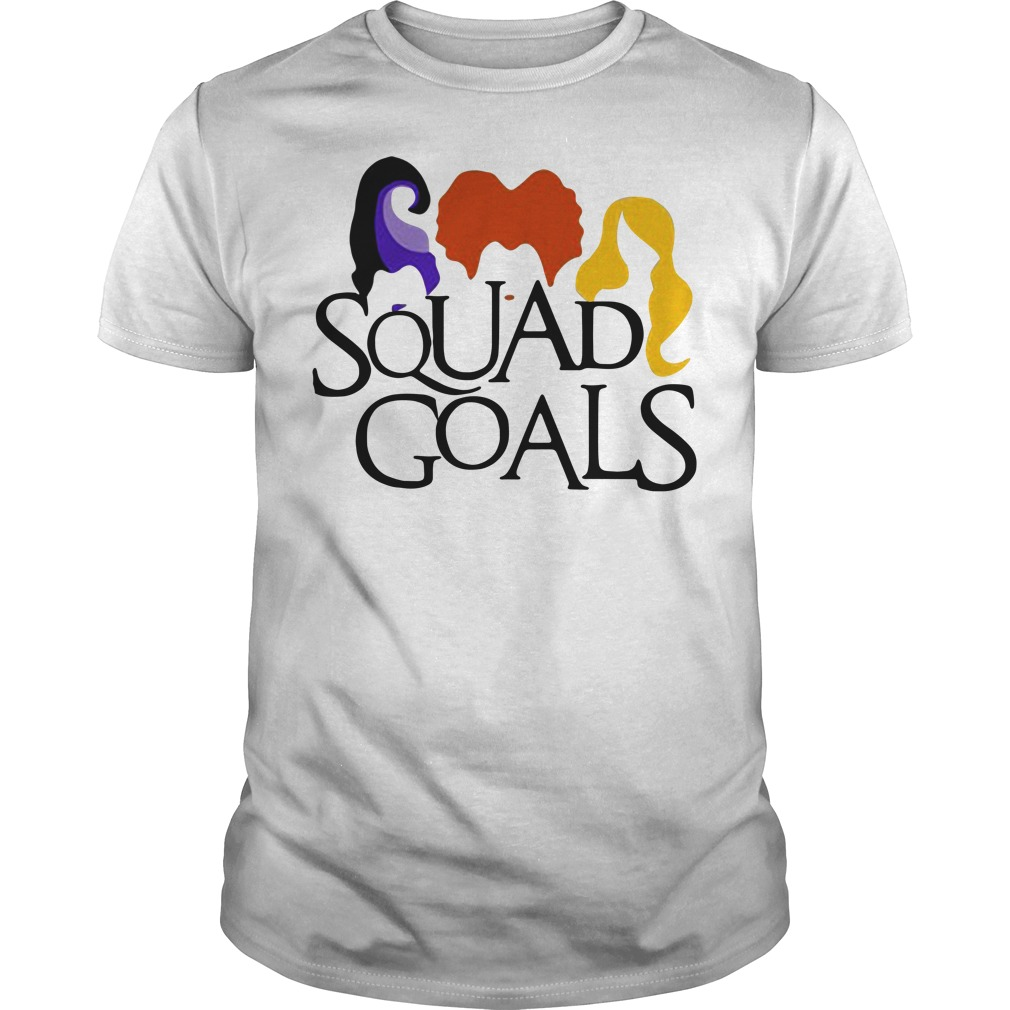 Halloween hocus pocus Squad Goals Guys Shirt