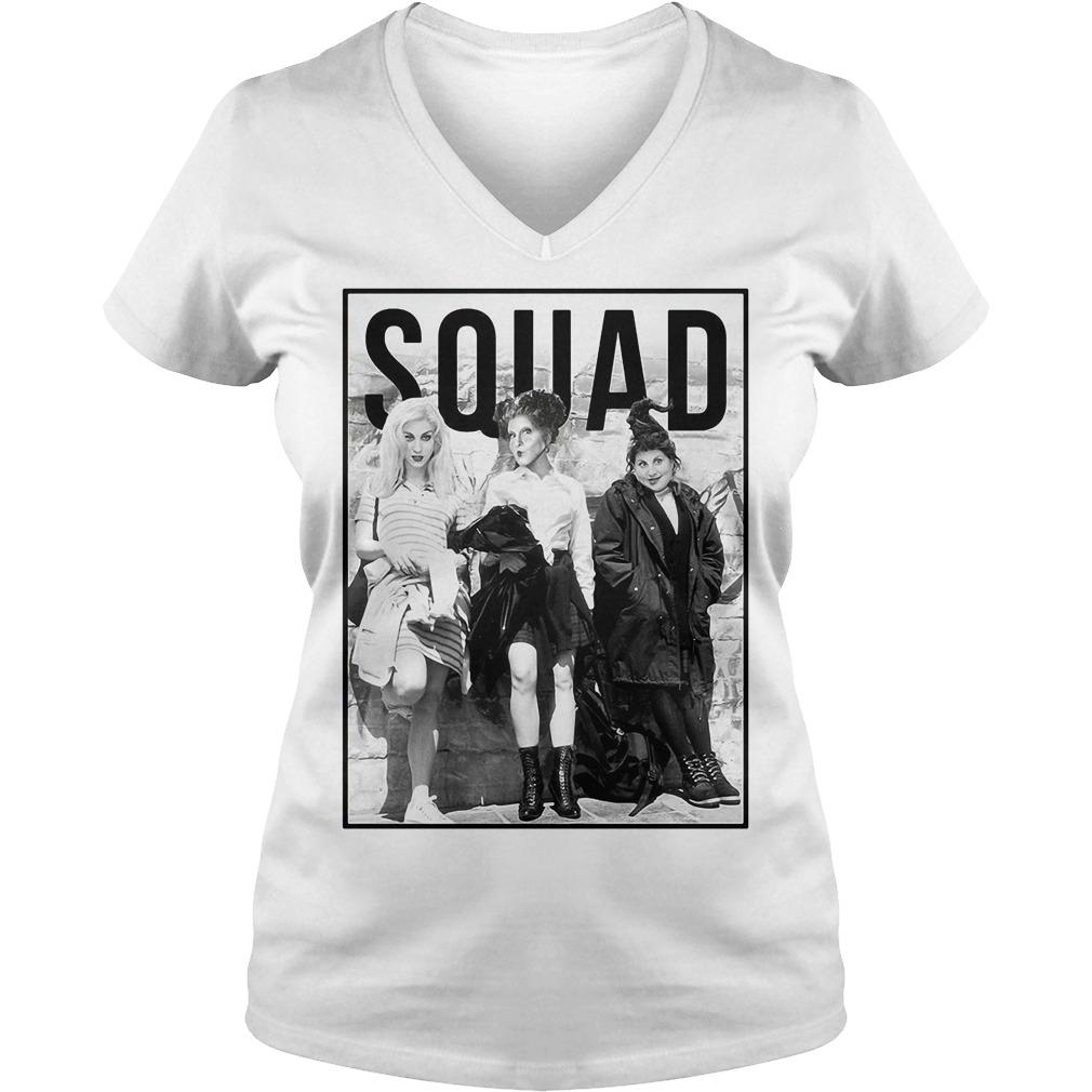 Halloween Hocus Pocus squad V-neck T-shirt
