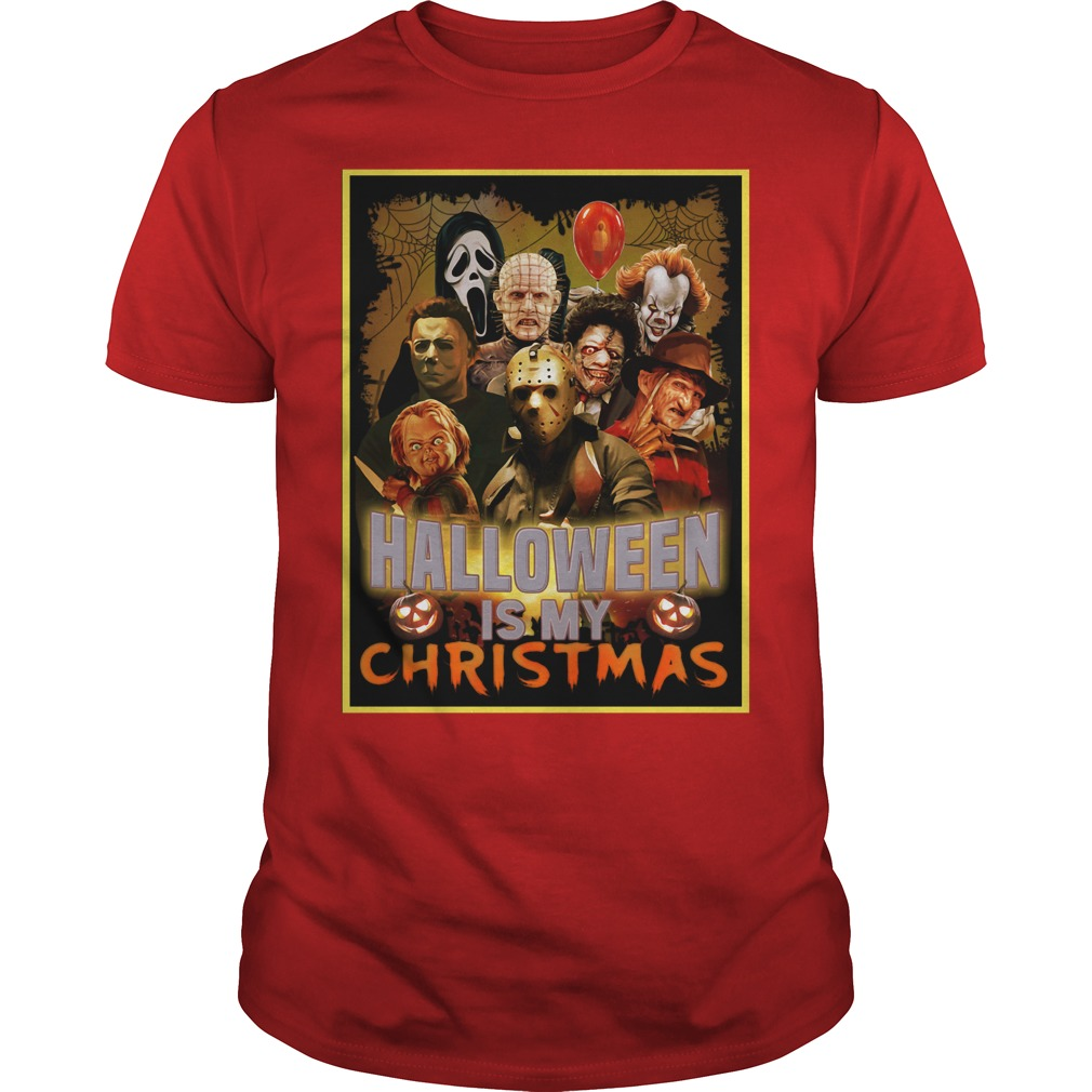 Halloween is my Christmas Honor character Guys Shirt