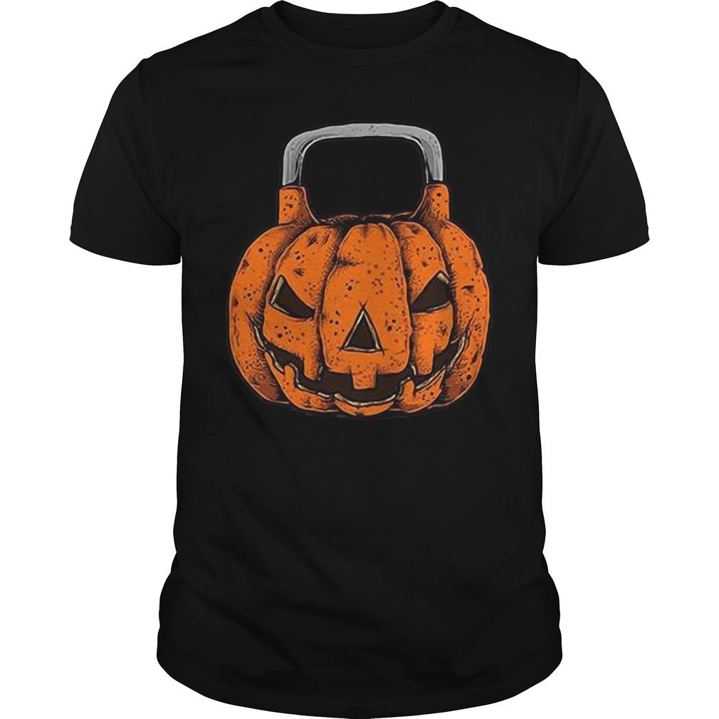 Halloween Jack O'Kettlebell Guys Shirt