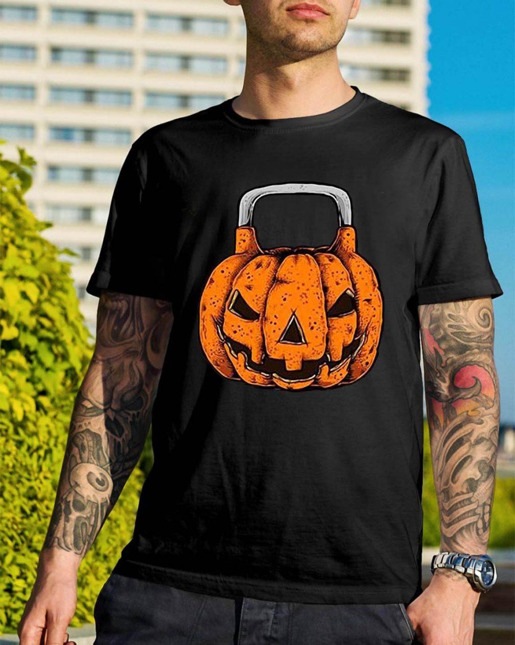 Halloween Jack O'Kettlebell shirt
